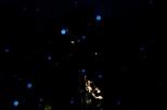 Tag 035 | 20.10.2014 So sieht es aus wenn das Bild komplett aus der (Zeit)Not heraus geboren wurde... Die blauen Punkte sind übrigens mehrfach angeblitzte Regentropfen...