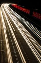 Tag 043 | 28.10.2014 Langzeitbelichtung auf der Autobahn(brücke)